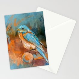A Splash Of Bluebird Stationery Cards