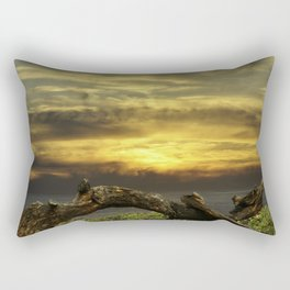Oregon Coast - Golden Hour Rectangular Pillow