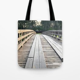Over the Bridge Tote Bag