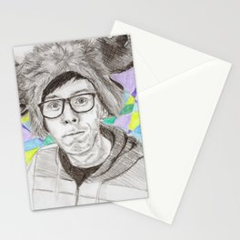 Phil Plays Shelter with Colour Stationery Cards