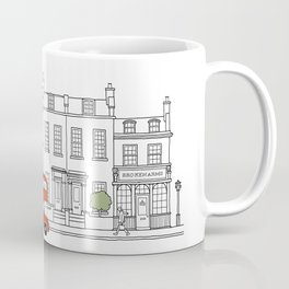 London houses Coffee Mug
