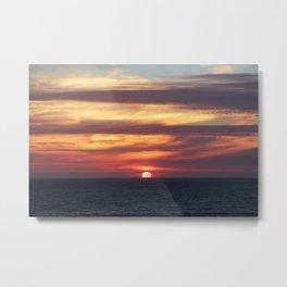 Dillon Beach Sunset Metal Print