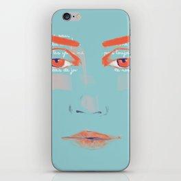 La Courbe de tes Yeux iPhone Skin