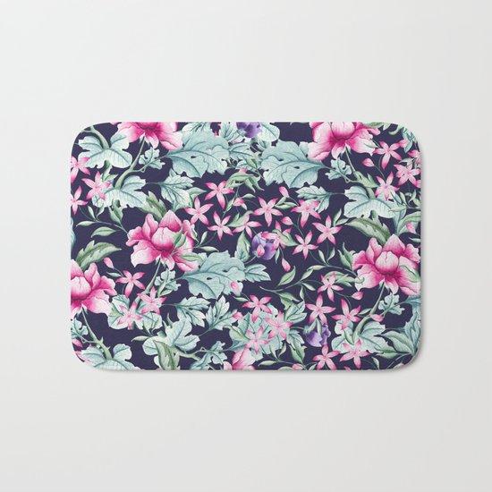 Floral Pattern 1 Bath Mat