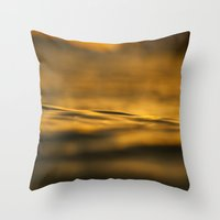 puerto rico Throw Pillows featuring Early Tranquility | Puerto Rico by Gabriel Vargas