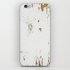 Vintage White Wood iPhone & iPod Skin