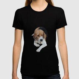 geometric beagle dog #1 T-shirt