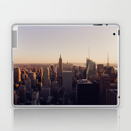 another Empire State Building shot | colored Laptop & iPad Skin
