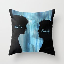 We're Family - Supernatural Throw Pillow
