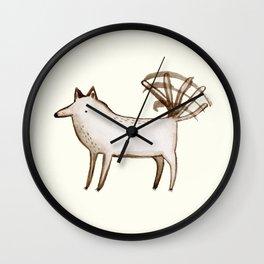 """""""I'm So Happy"""" - Dog Wall Clock"""