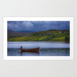 Carbost Loch Harport Art Print