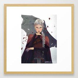 Manon Framed Art Print