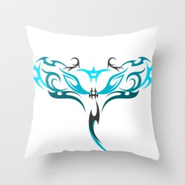 Manta Throw Pillow