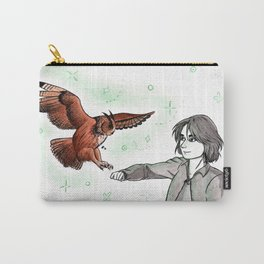 Eagle Owl Sielulintu Carry-All Pouch