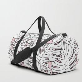 Pink Palms Duffle Bag