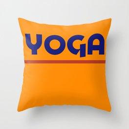 YOGA - Sazón Throw Pillow