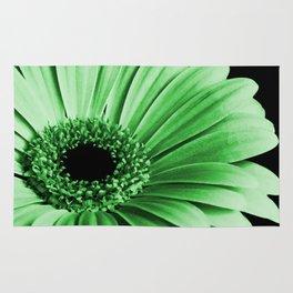 Gerbera Green Rug