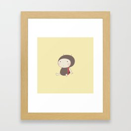 Little ladybeetle Framed Art Print