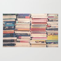 books Area & Throw Rugs featuring Books  by Caroline Mint