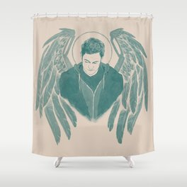 Gadreel creme Shower Curtain