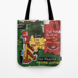 Mr. Machine Tote Bag