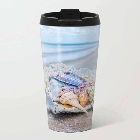 Sea Gems Metal Travel Mug