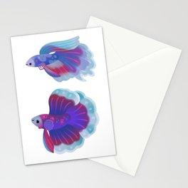 Blue Betta Stationery Cards