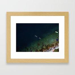 Untitled. Lago di Garda Veneto. Framed Art Print