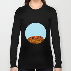uluru polygon Long Sleeve T-shirt