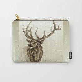 Elk Portrait - In the Roar Carry-All Pouch