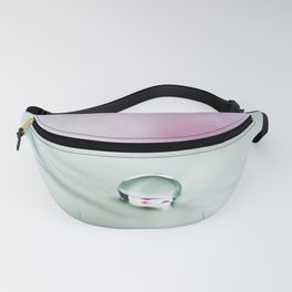 feather green Fanny Pack