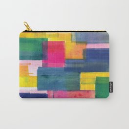 Color Block Series: Rooftops Carry-All Pouch