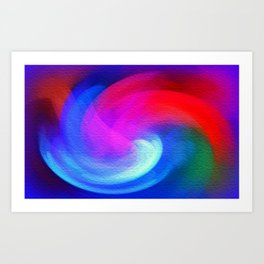 Fractal Abstract Art Print