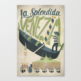 La Splendida Venezia Canvas Print