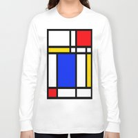 mondrian Long Sleeve T-shirts featuring Mondrian by The Wellington Boot