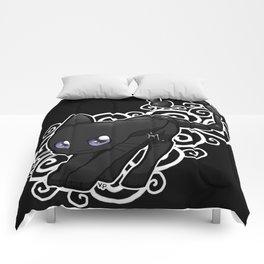 Zodiac Cats - Scorpio Comforters