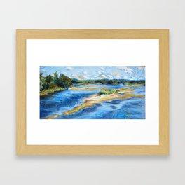 L'île épisodique Framed Art Print