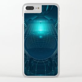 DIGITAL SPACE EGFXF26 Clear iPhone Case