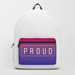 Bisexual Flag v2 - Pride Backpack