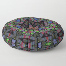 Kinetic Colors 4-38 Floor Pillow