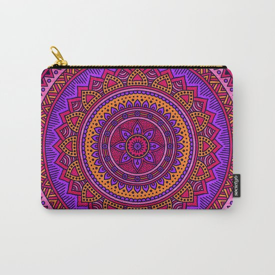 Hippie mandala 43 Carry-All Pouch