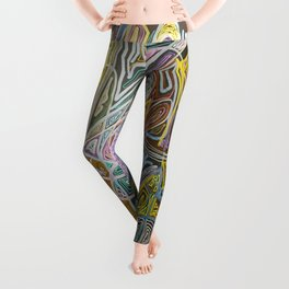 A Story is Told Leggings
