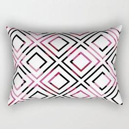Basic Pre-Columbian Pattern Rectangular Pillow