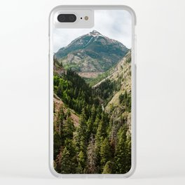 Gateway to the San Juan Mountains Clear iPhone Case