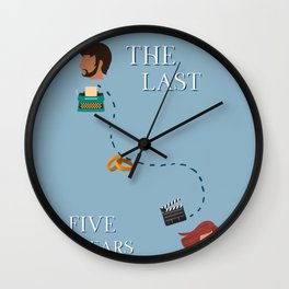 The Last Five Years Wall Clock