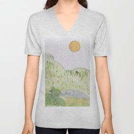 Lincoln National Forest New Mexico Unisex V-Neck