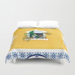 Lisbon girl Duvet Cover