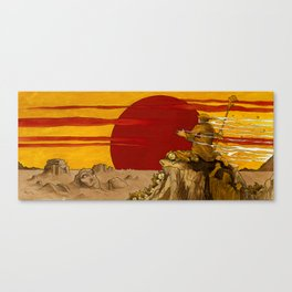 Become the Sun Canvas Print