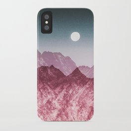 Unstoppable moon iPhone Case