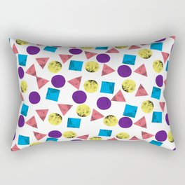 Square, Triangle, Circle Rectangular Pillow